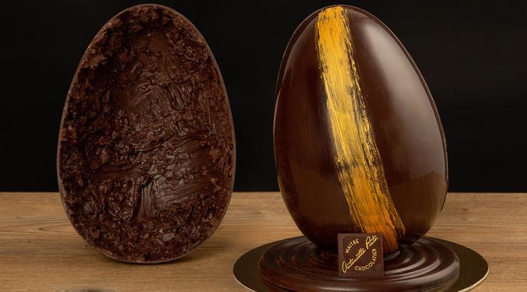 L'œuf de Pâques chocolat et capocollo Santoro est déjà sold out
