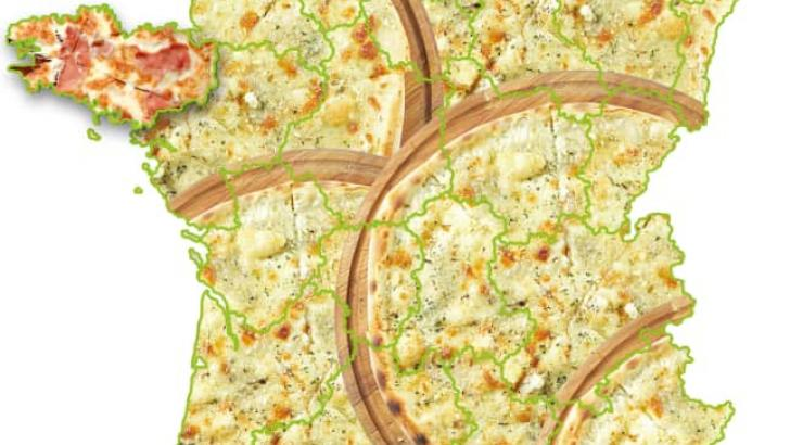 La pizza la plus populaire en France est…