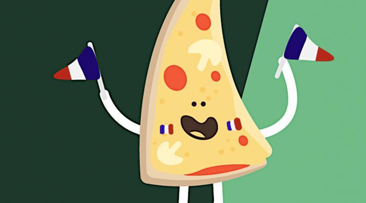 Euro de foot : Tutti Pizza vibre pour les Bleus !
