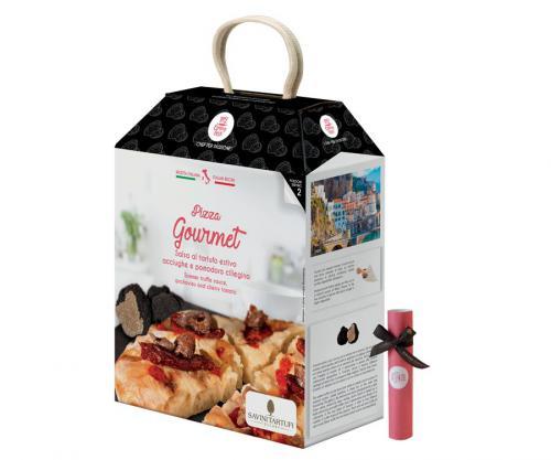 Box Pizza à la truffe par Savini Tartufi