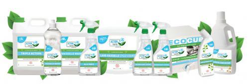 Action Verte, nouvelle marque de nettoyants écologiques