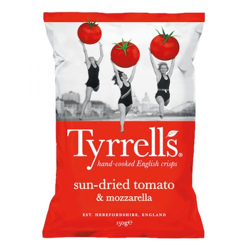 Chips Sun-dried Tomato & Mozzarella par Tyrrells