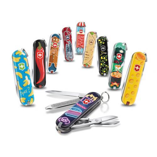Petit couteau de poche inspiré des cuisines du monde par Victorinox