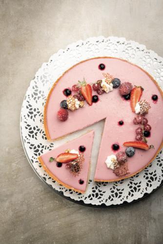 Pot de Crème Fruits Rouges par Alsa