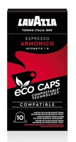 Lavazza lance les capsules eco-caps 100 % compostables
