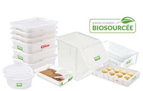 Bacs à diviseuses en matière biosourcée par Gilac