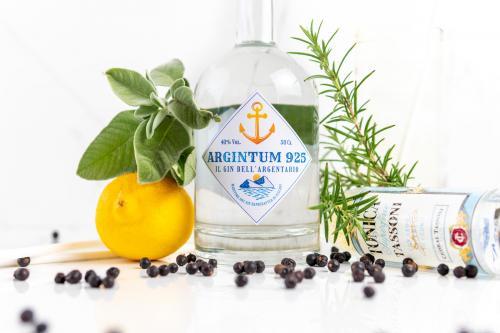 Argintum 925, gin de la mer toscane
