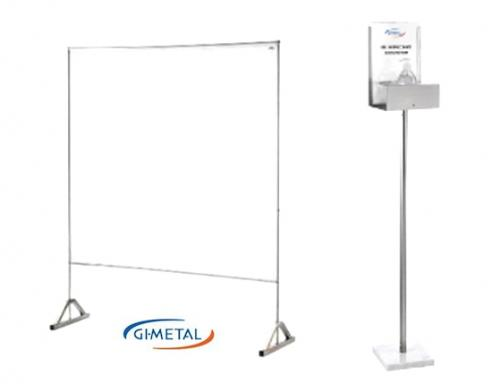 Panneaux de protection et colonnes gel par GI.METAL