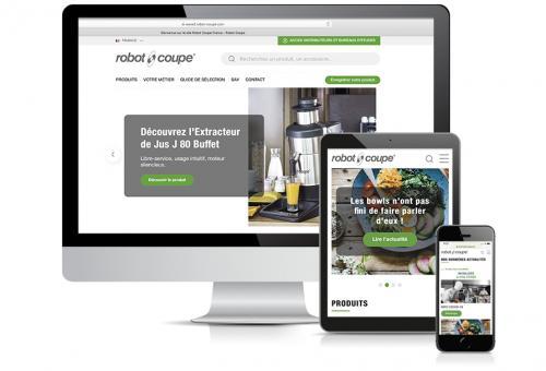 Robot-Coupe : le nouveau site web