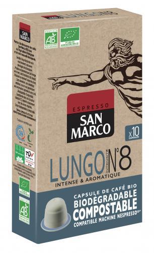 4 nouvelles capsules bio par San Marco