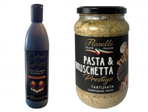 Crème de balsamique Toscoro et Tartufata Florelli par ItalPassion