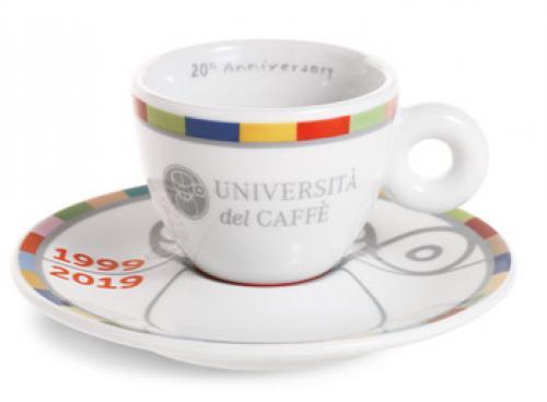 Une tasse Thun pour les 20 ans de l'Université du Caffè Illy