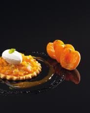 Pizzetta d'abricot au basilic