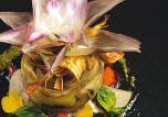 Fleur d'artichaut par Jean-Luc Rabanel
