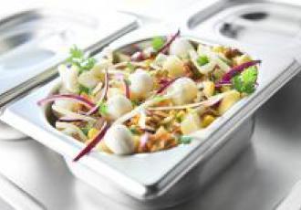 Salade à la mozzarella