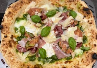 Pizza prosciutto & fichi di Thomas Laverge